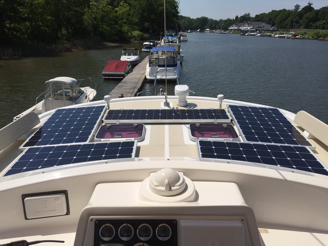 Solar Panels Deck Mounted