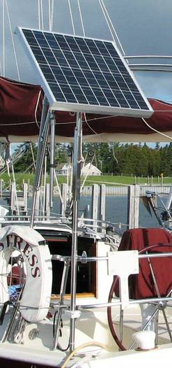 Solar Panel Mounting Systems Custom Marine Products