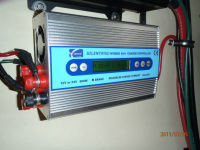 solar controller for both wind generator and marine solar panel on boat