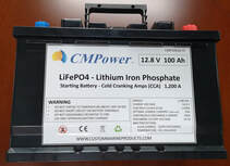 Marine Lithium battery for fishing boats