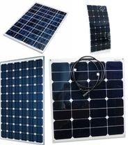 rigid and flexible marine solar panels with Sunpower cells from Custom Marine Products