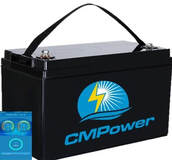Lithium Iron Phosphate (lifepo4) marine battery by custom marine products for marine and solar use