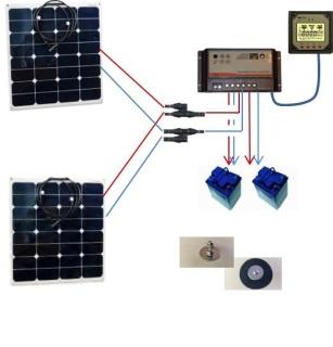 solar panel controller instructions