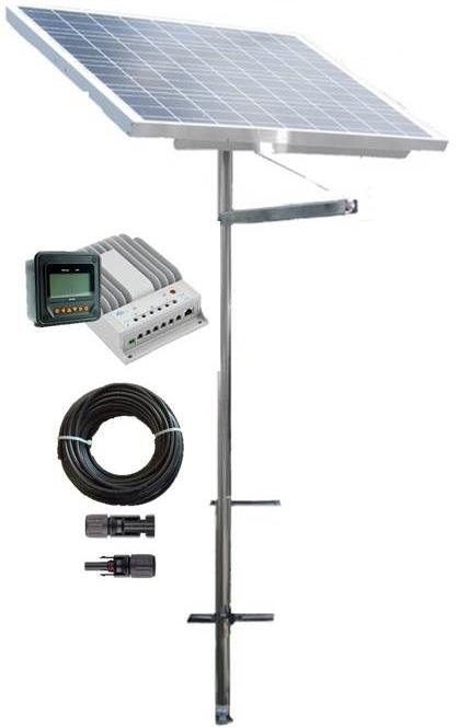 Pole Mounted Marine Solar Panel Kits Maximize Your Solar
